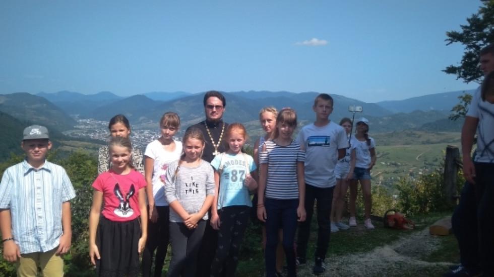 Гірські краєвиди сподобались дітям