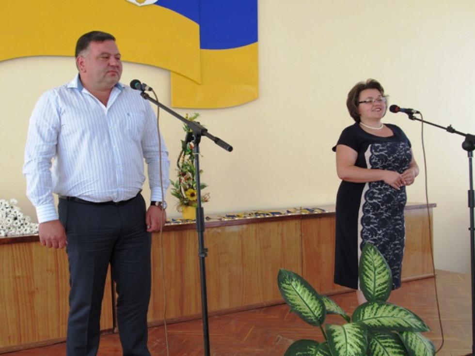 Зі словами привітання виступили голови районної державної адміністрації Юлія Гринчук та районної ради Тарас Щерблюк