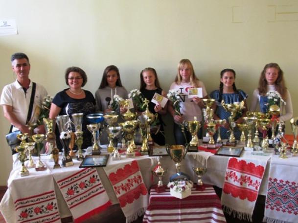 У Горохові нагородили кращих спортсменів