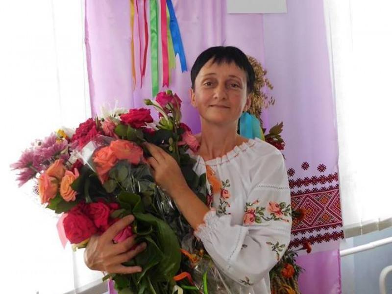 Горохівчанка Леся Кос