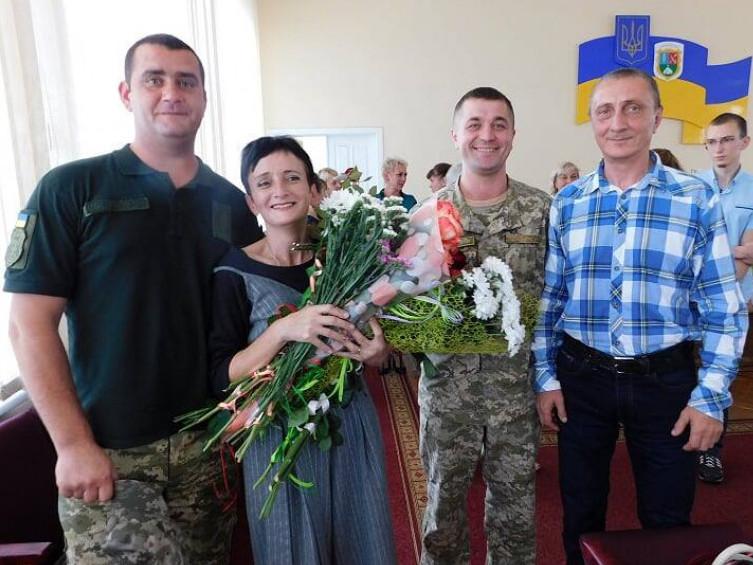 Олександр Кондисюк, Леся Кос, Валентин Корнієнко та Михайло Кос
