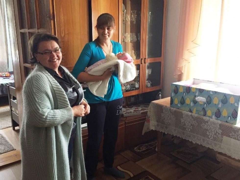 Щаслива мама і Юлія Гринчук