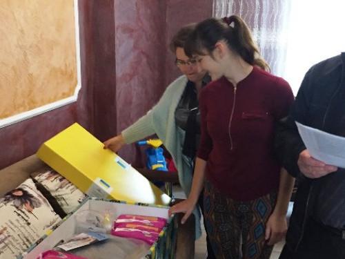 На Горохівщині перші три родини отримали «пакунки малюка»