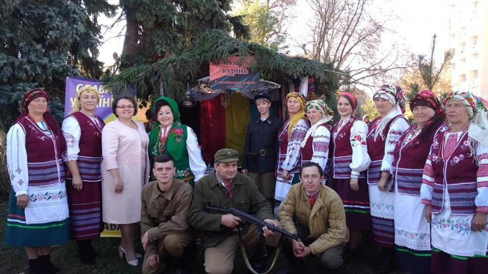 Горохівчани на фестивалі у Луцьку