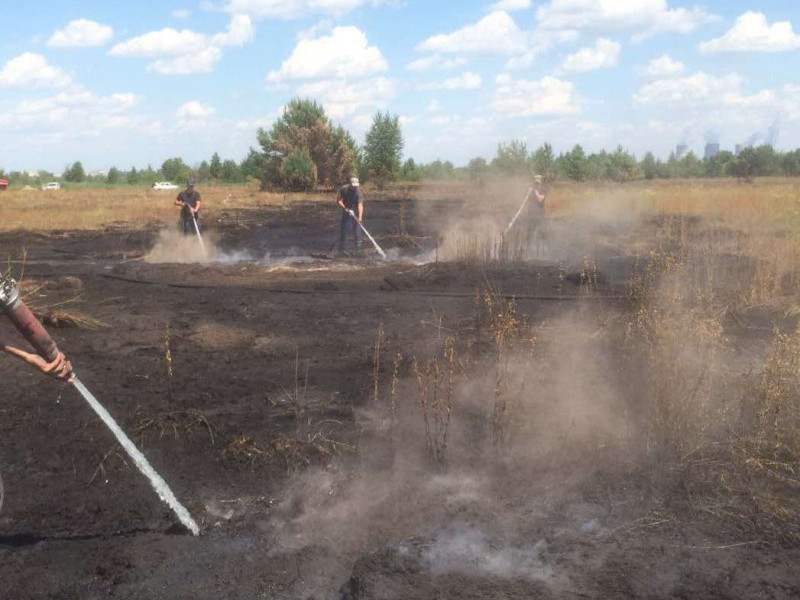 На Ківерцівщині горіла суха трава