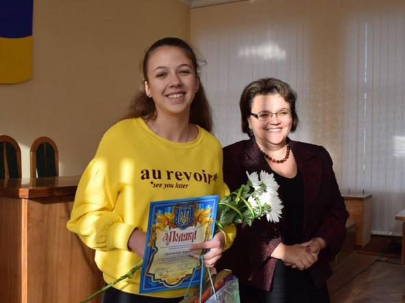 Дарина Сцьольна з Юлією Гринчук