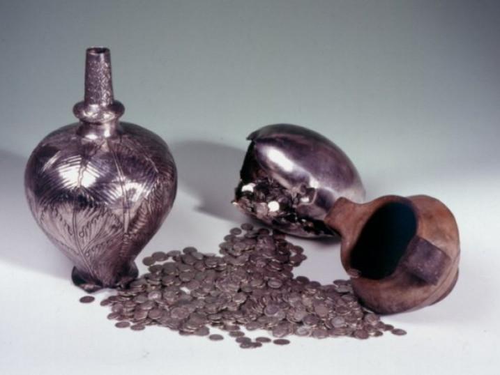 Борочицький скарб, фото з Варшавського музею