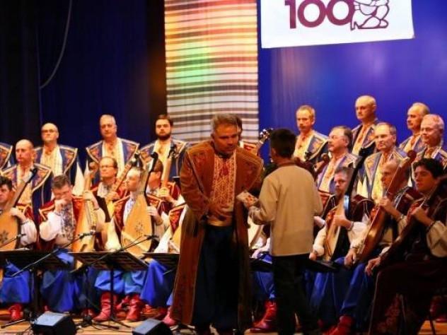 Волинські музиканти побували на концерті української капели бандуристів імені Тараса Шевченка