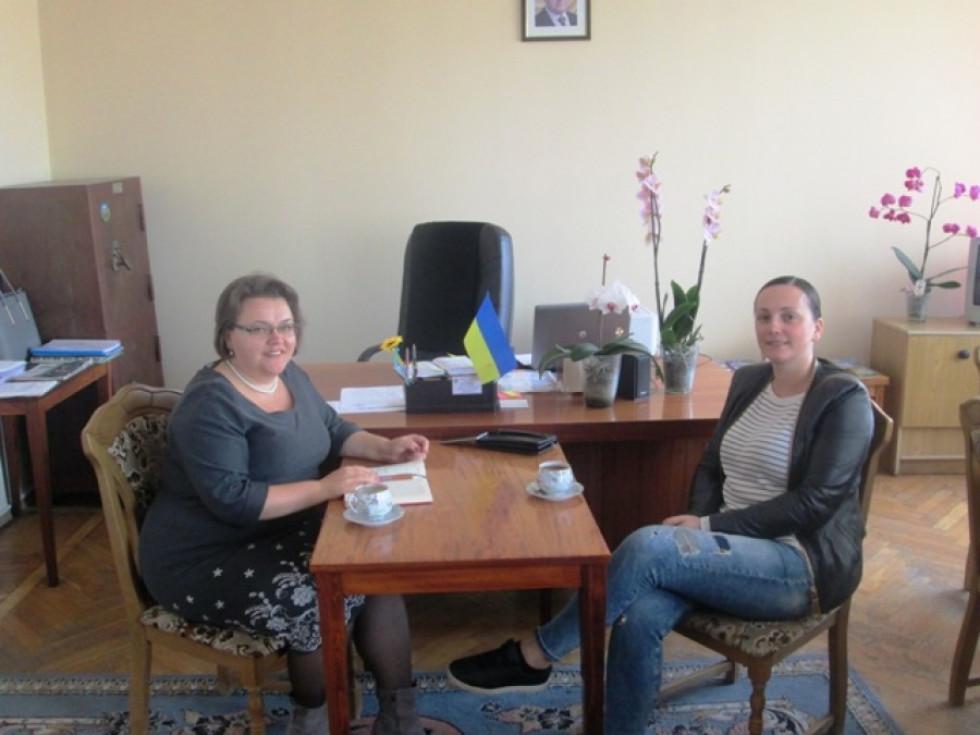 Зустріч у Юлії Гринчук. Фото з сайту Горохівської райдержадміністрації