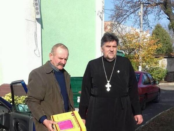 Небайдужі парафіяни знову передали допомогу родині з Горохівщини