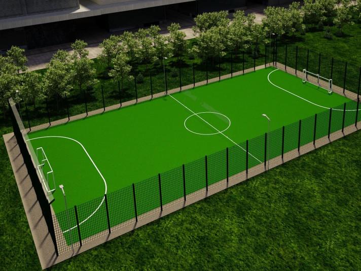 На Ковельщині побудують два футбольних поля зі штучним покриттям