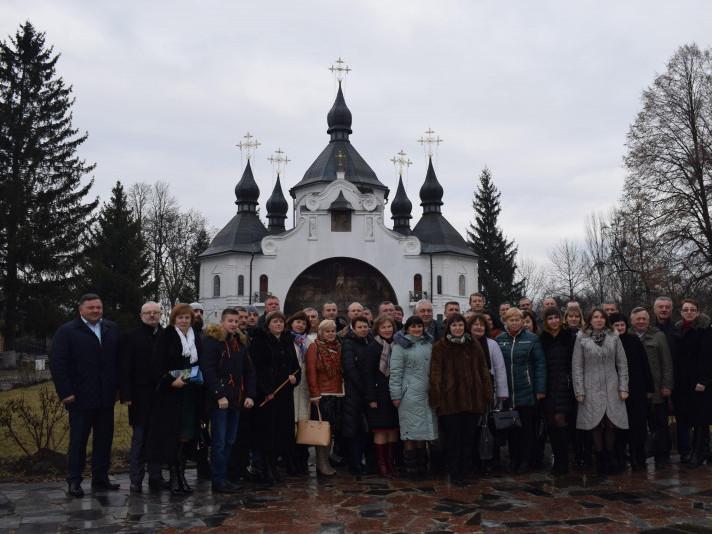 У Берестечку зустрілися делегації з трьох районів Волині
