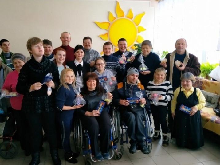 Для особливих діток Горохівщини провели майстер-клас з миловаріння