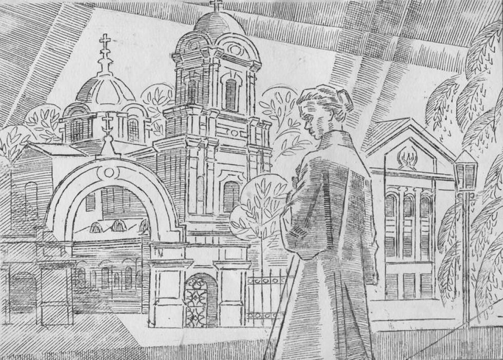 Іван Бойко. Малюнок