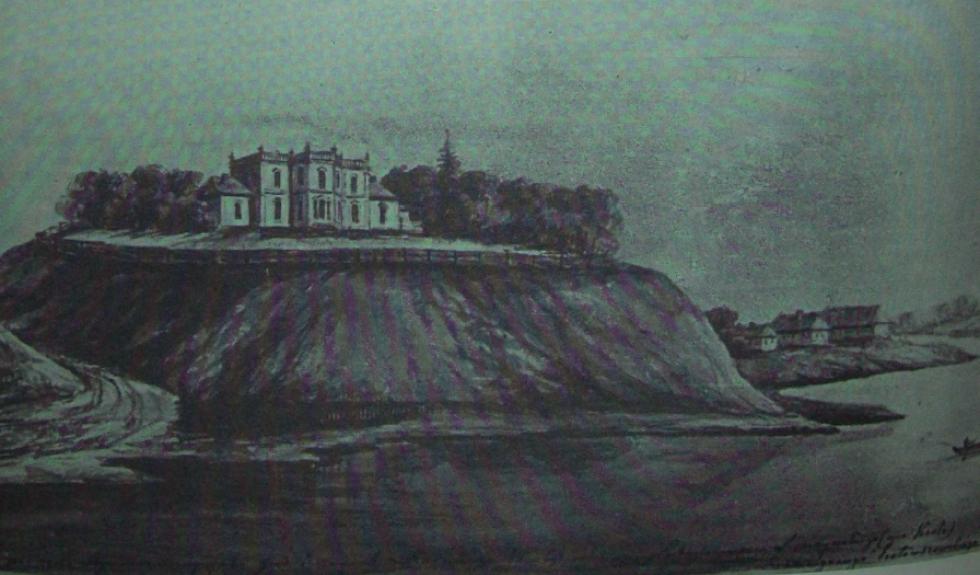 Палац в Перемилі. Наполеон Орда. 1874