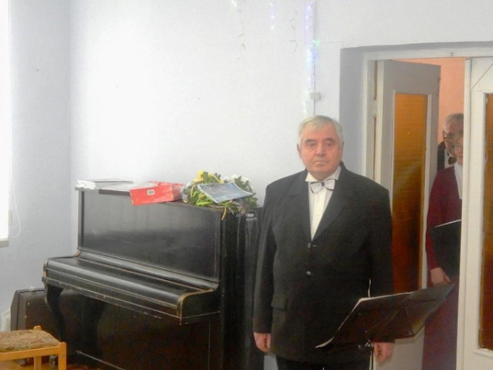 Заслужений працівник культури України Петро Старушик