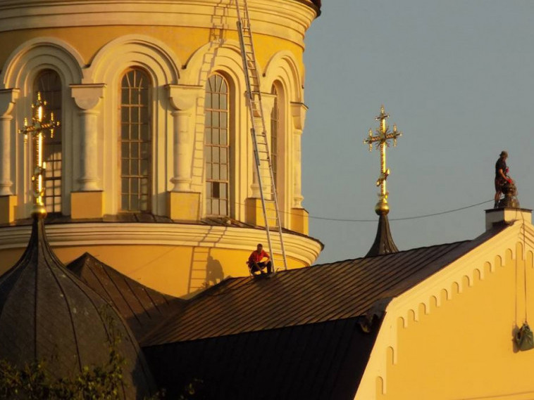 Дах Берестечківського собору
