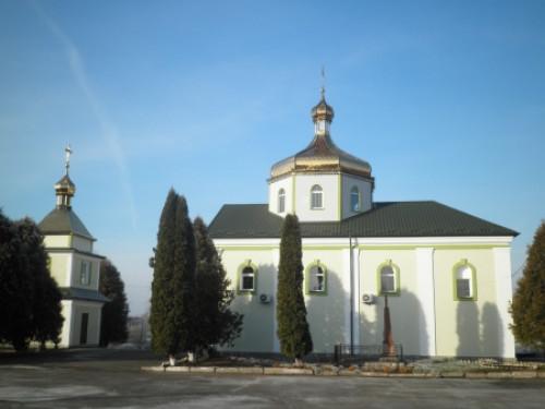 Свято-Миколаївська церква у Скобелці