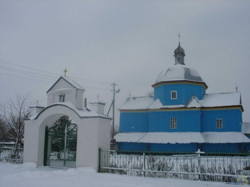 Церква села Кутрів