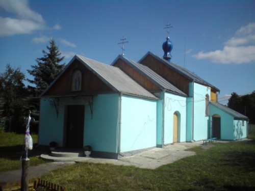 Свято-Миколаївська церква у Звинячому