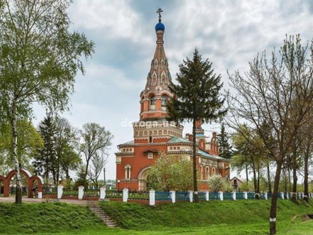 Свято-Дмитрівський храм у Журавниках