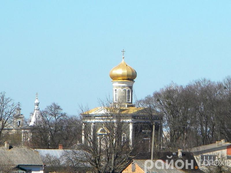 Святогеоргіївська церква у селі Піски