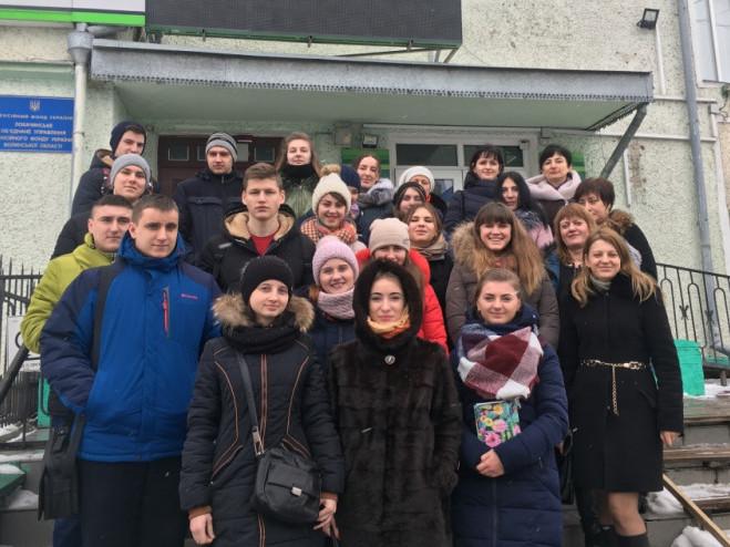 Студентам Горохівського коледжу ЛНАУ влаштували екскурсію у фінансові установи