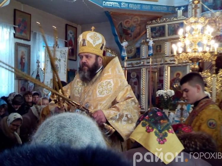 У Берестечку митрополит Михаїл представив нового священика