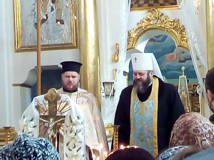 Представлення нового священика в Кутрові