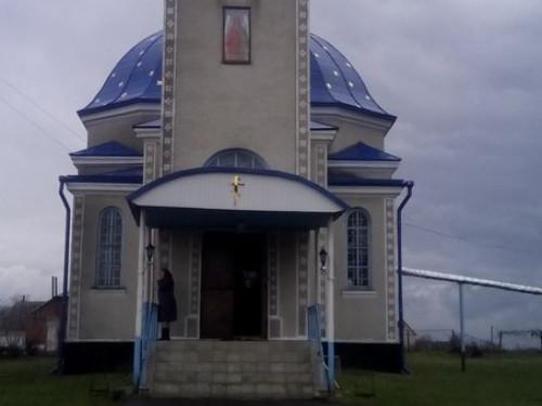 Свято-Михайлівський храм села Бужани