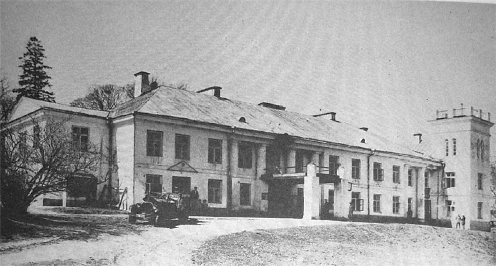 Палац у 1925 році. Зображення з книги Романа Афтаназі Dzieje rezydencji na dawnych kresach Rzeczypospolitej