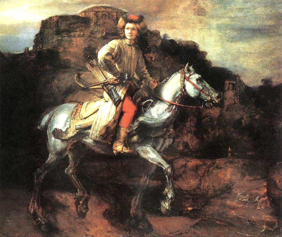 «Польський вершник» Рембрандта