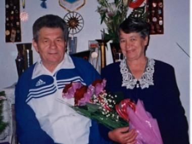 Олександр Баламут разом із дружиною Ніною Олександрівною