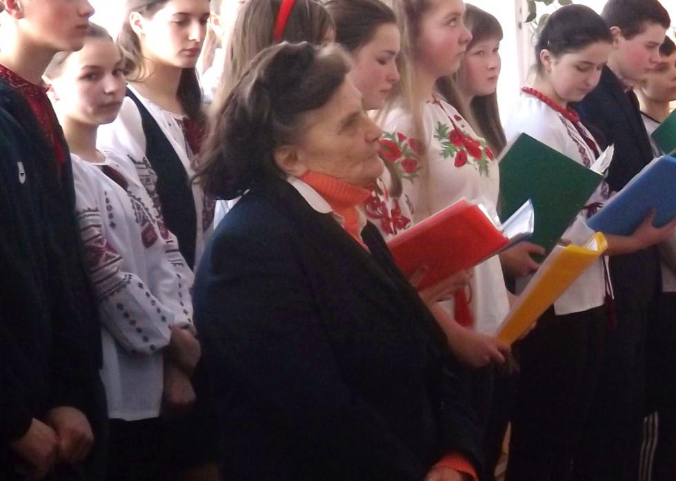 На відкритті оновленого музею українських героїв у школі