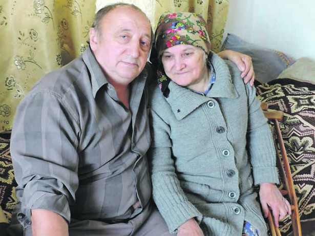 Віктор Самолюк з Раїсою Корінецькою - щаслива пара