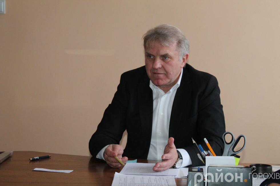Заступник голови облдержадміністрації Валентин Цьось
