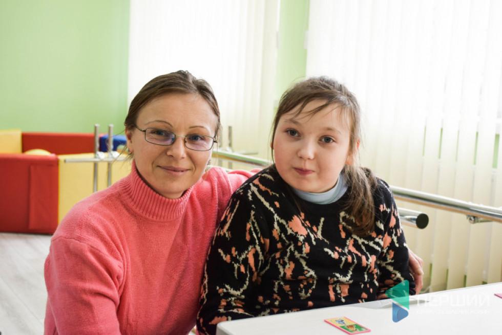 Саша займаэться у Рожищансьому інклюзивно-ресурсному центрі