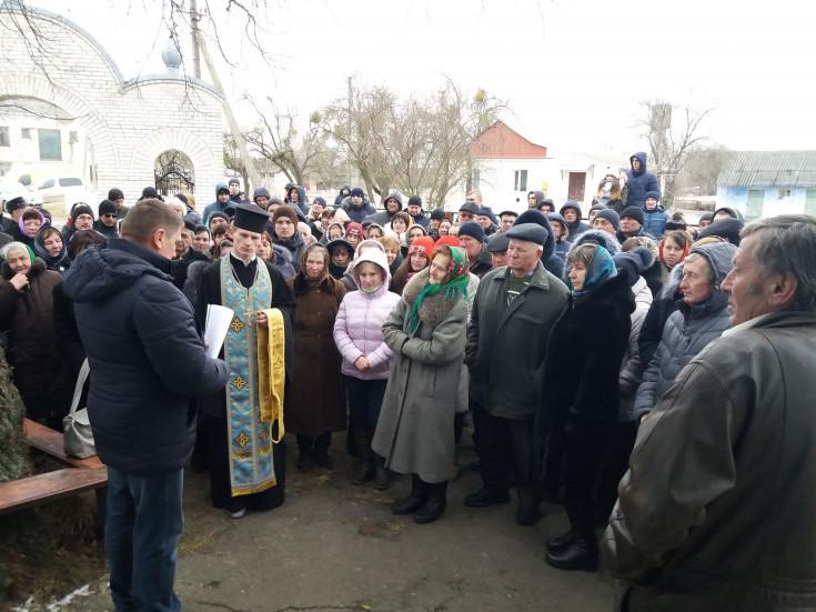 Парафіяльні збори в Лобачівці