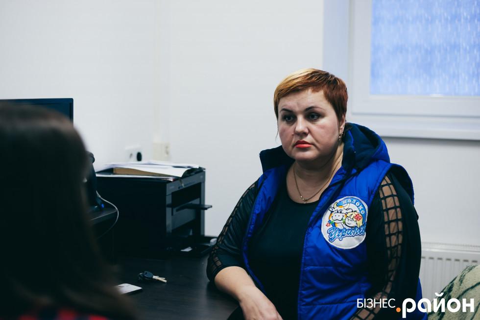 Лариса вже шість років просуває продукцію ТМ «УгринівМолоко»