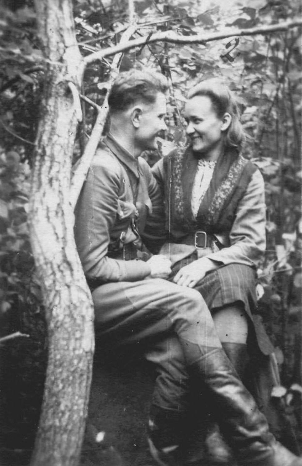 Василь Сарчук і Лідія Зубрицька (Сарчук)
