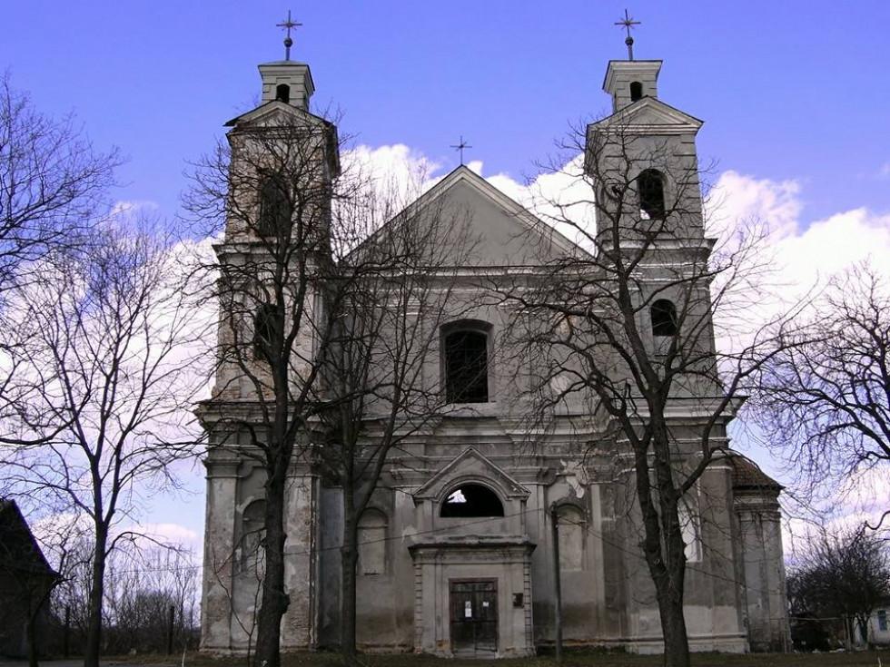 Берестечківський костел. Фото Сергія Бойка