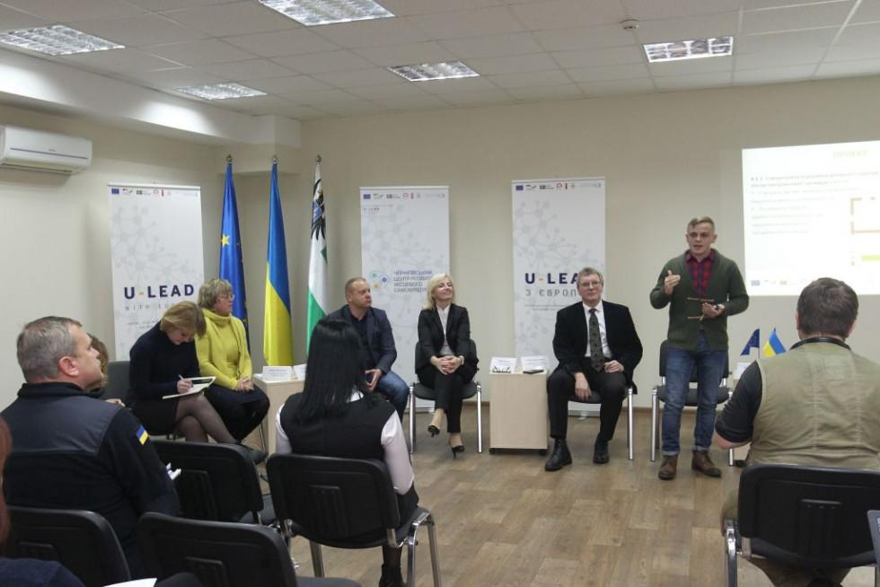 Валентин Потеруха презентує Стратегію розвитку Батуринської ОТГ