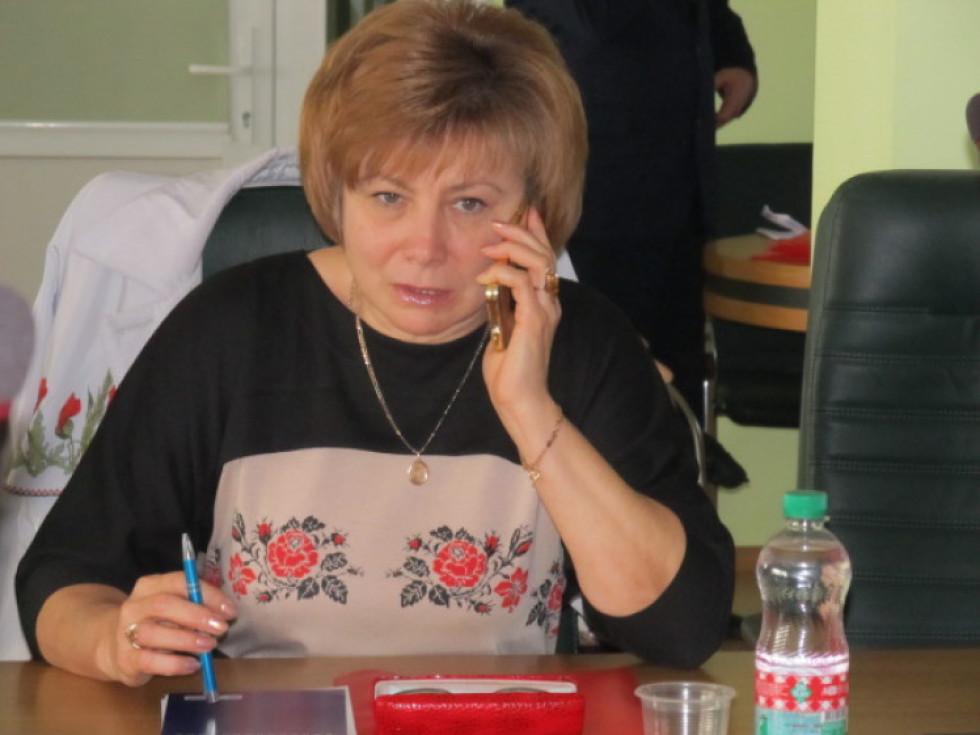 Берестечківська міська голова Валентина Залевська. Фото Тамари Зубенко
