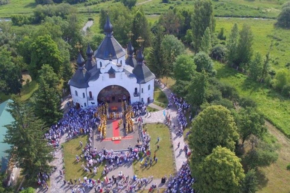 Національний історико-культурний музей-заповідник «Козацькі могили» у селі Пляшева Рівненської області