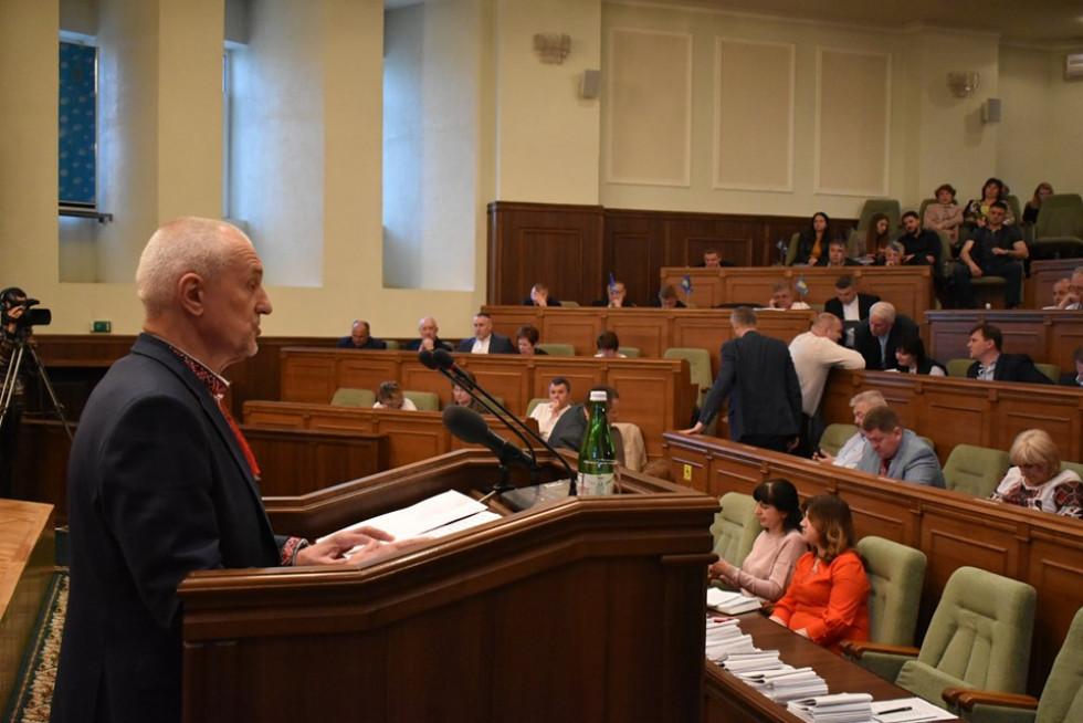 Олександр Савченко звітує про виконання бюджету