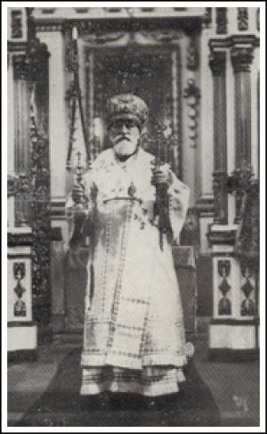 Митрополит Полікарп Сікорський в Соборі святої Трійці уЛуцьку