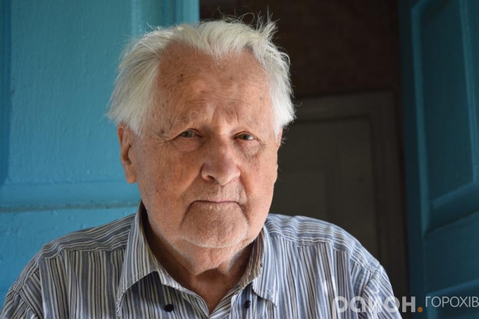 Колишній директор Берестечківського музею Іван Шиманський, на Волині опинився після акції «Вісла»