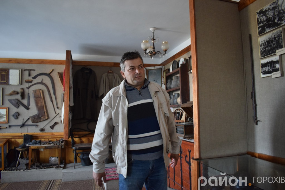 Директор Берестечківського музею Олег Дергай