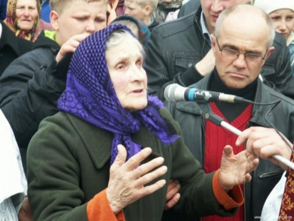 Галина Козік, свідок трагедії. Фото Петра Боярчука